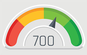 Qualifying credit score for a jumbo loan in California